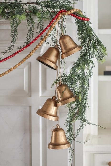 DIY Dollar Store Hanging Bells
