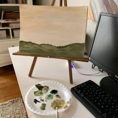 painted landscape