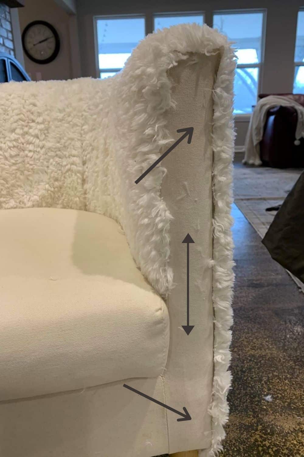 diy recovered chair