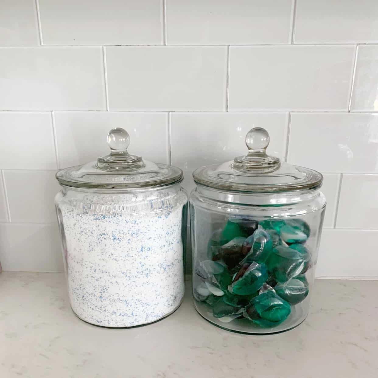 jars for laundry detergent