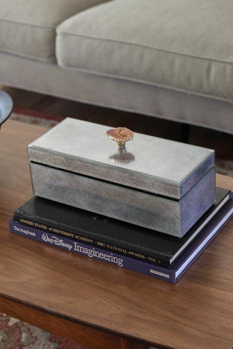 DIY agate box