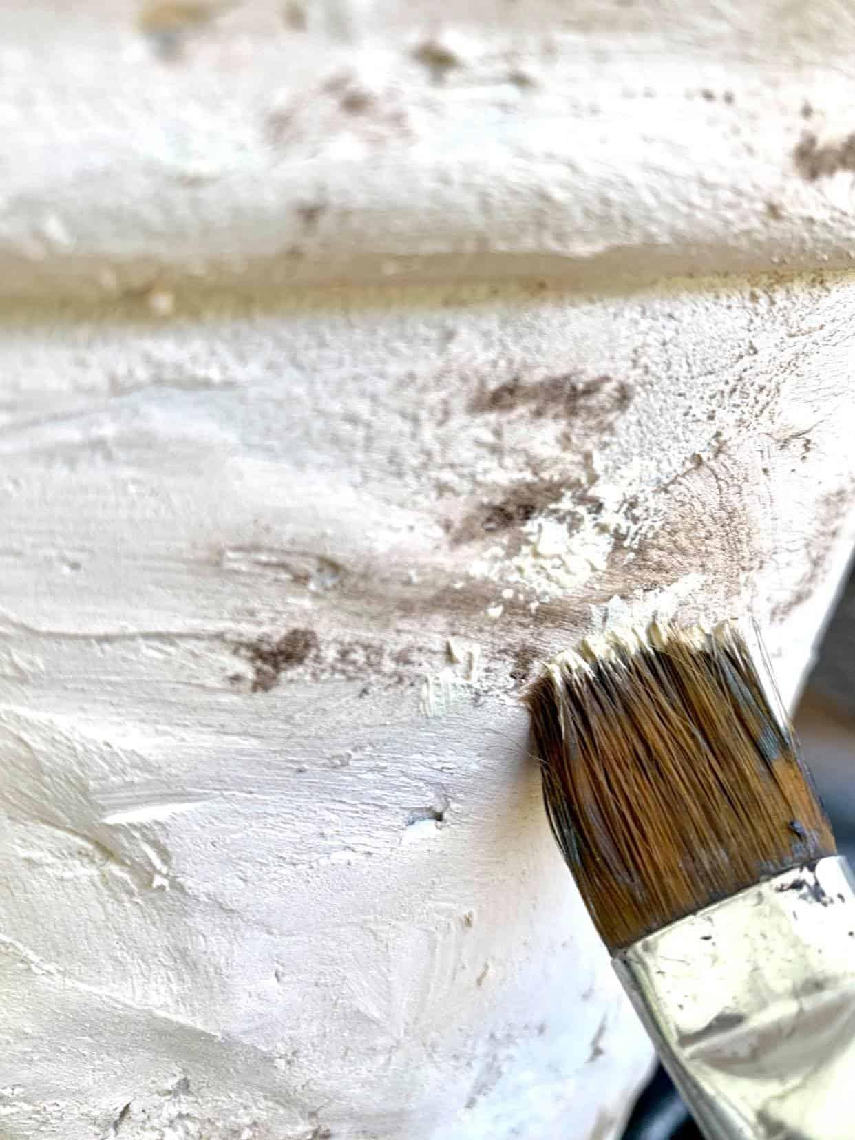 Soften the paint