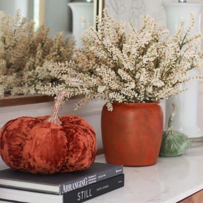diy rustic vase